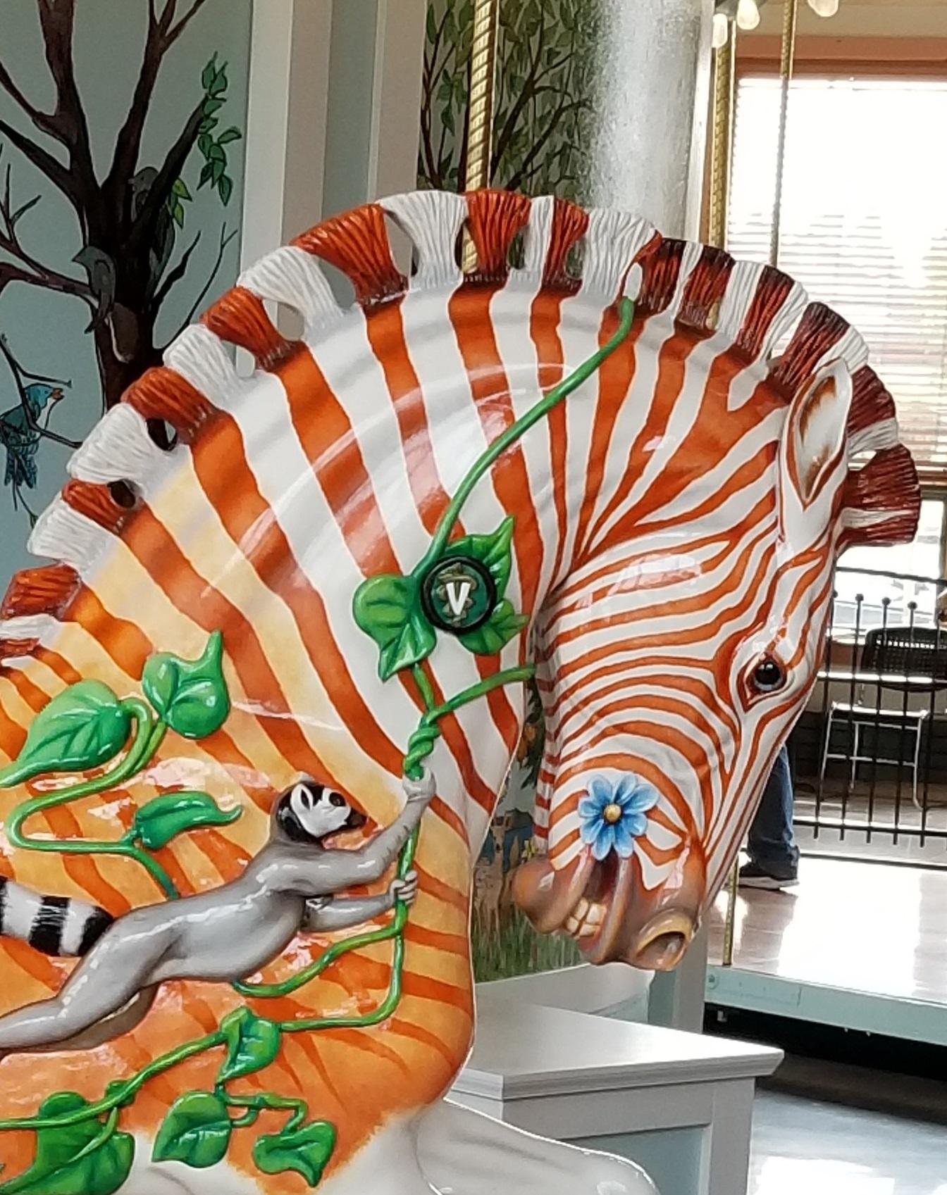 mythological zebra head